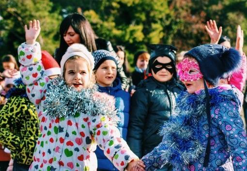 В микрорайонах Геленджика происходят новогодние чудеса